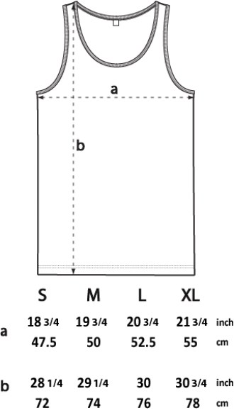 RC Tank Top Size Guide