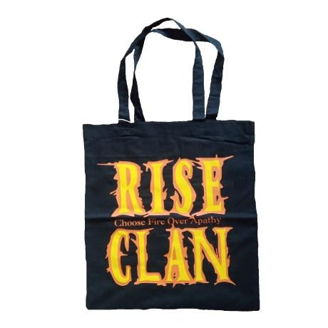 Rise Clan EC tote bag black