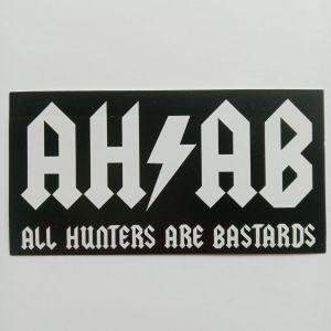 ahab sticker