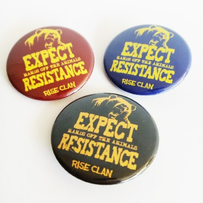 expect resistance button