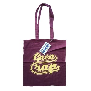 gaea tote bag bordeaux