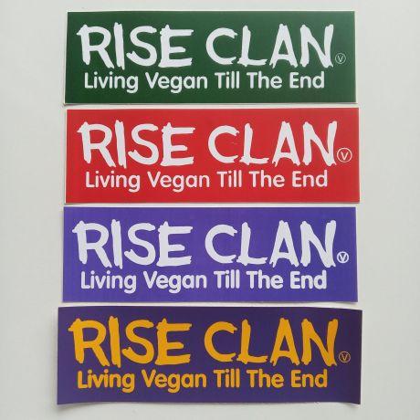 living vegan till the end sticker