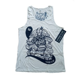 yes its vegan tank top front