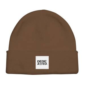 beanie brown 1
