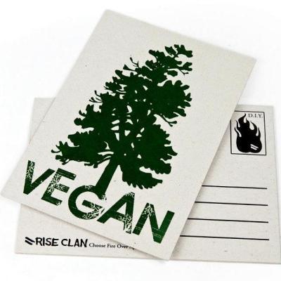 Vegan Tree postcard