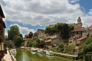 The rivers of the Dordogne