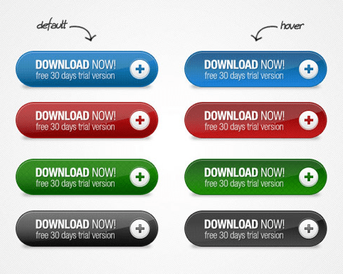 Download Free Download Now Buttons PSD
