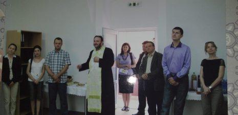 Dan Barna participă la inaugurarea unuia dintre centrele din județul Alba în 2012
