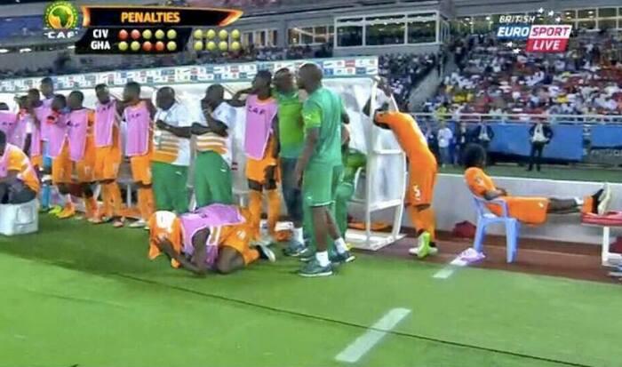 Gerbinho finale coppa d'Africa 2015 rigori - Riserva di Lusso