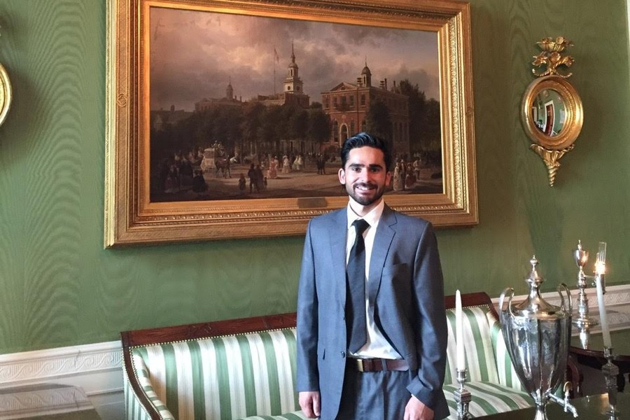 Ahmad at the White House, where he joined President Obama's 2016 Eid al-Fitr reception.