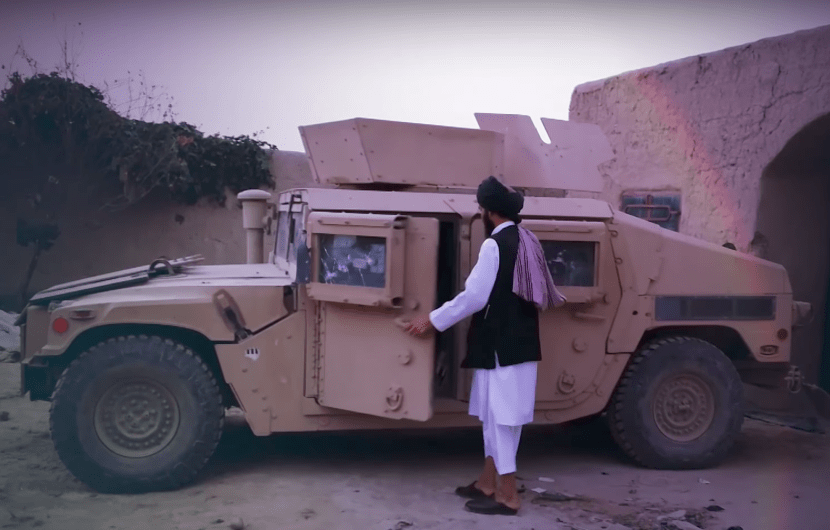 Screen Shot 2017 10 19 at 11.46.38 PM - Humvees: Taliban's new VBIED