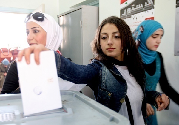 Voting in Syria: Elections Signal an End to ISIL