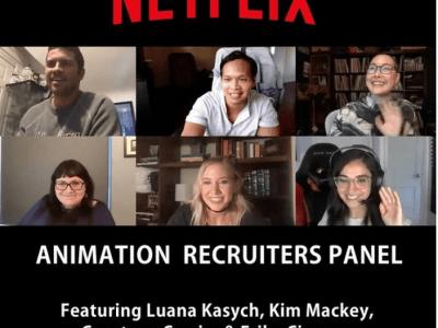 Panel: Animation Recruiters | Netflix Animation