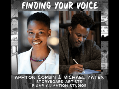 Panel: Finding Your Voice | Aphton Corbin and Michael Yates