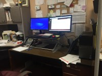cubicle standing desk