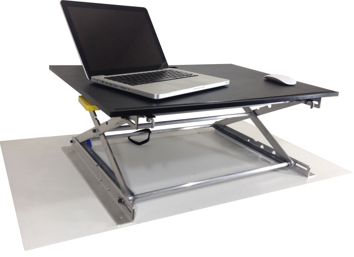 RiseUP Standing Desk Adjustable and Portable Sit or Stand Desk