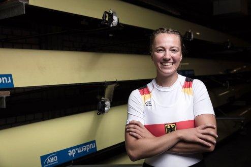 Charlotte Wesselmann. Foto: DRV/Schwier