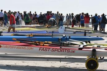 Amrum Challenge – Reges Treiben am Norddorfer Strand. Foto: fast-sports.de