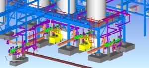 Multi Discipline Engineering for Reactor Area