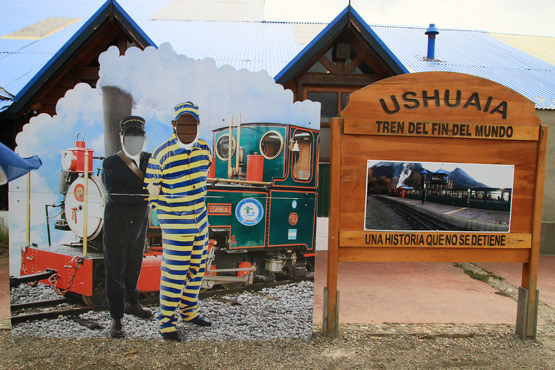 At the End of the World train in Ushuaia … # ...