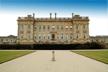 Heythrop Hall in Oxfordshire - the site of the wedding of the year