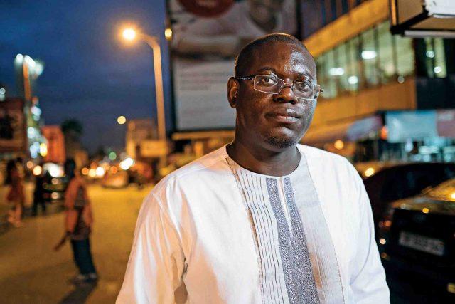 Ghanaian entrepreneur Bright Simons. Photographer: Nana Kofi Acquah