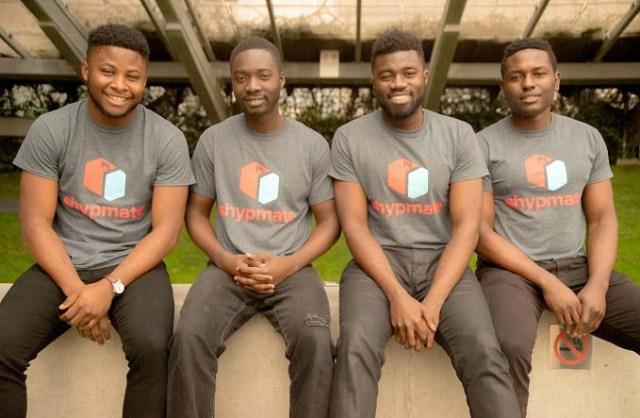 L-R: Chisom Ebinama; Kwadwo Nyarko; Perry Ogwuche; Tochukwu Okoro.