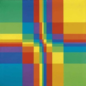 neun-systematische-farbreihen-mit-horizontaler-und-vertikaler-verdichtung-1955