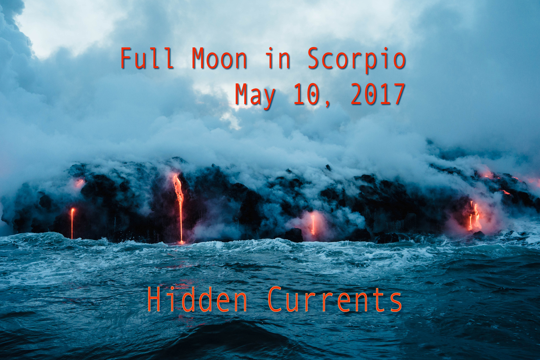 Full Moon in Scorpio: Hidden Currents