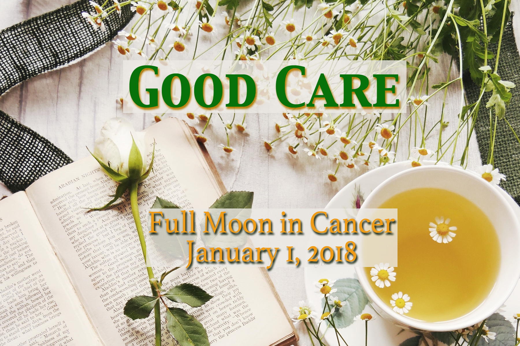 Full Moon in Cancer: Good Care