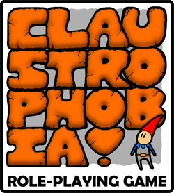 Claustrophobia! Role-Playing Game Logo 2