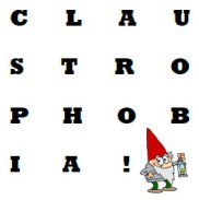 First Logo for Claustrophobia