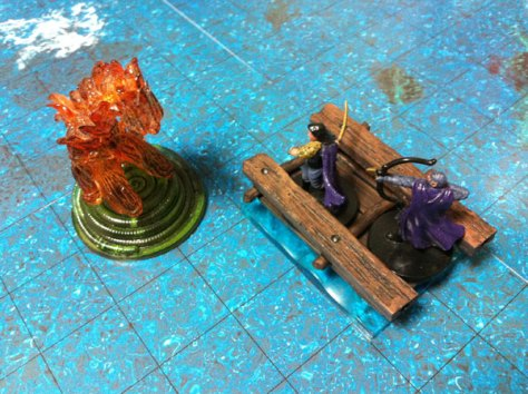 Raft vs Fire Elemental