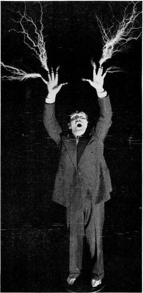 Shooting Sparks from fingers 1938