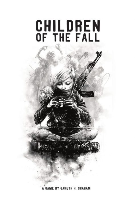 The cover of Children of the Fall.