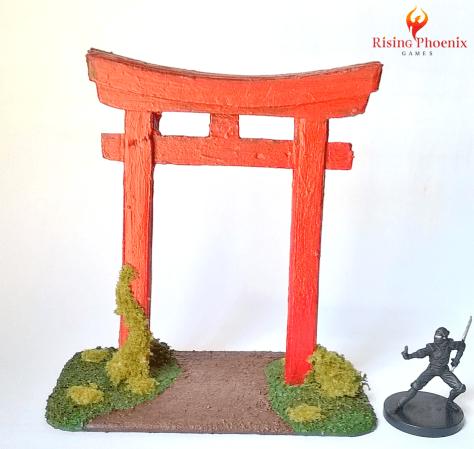 Miniature Japanese Torii