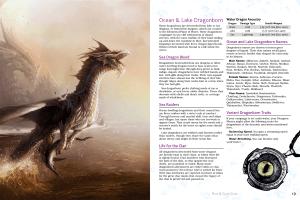 Undersea Sourcebook Race & Class Guide Spread 1