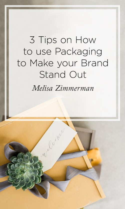 use packaging to enhance your brand