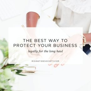The Best Way to Legally Protect Your Business