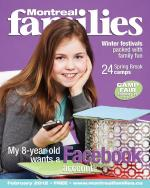 Montreal Famiies Magazine March cover