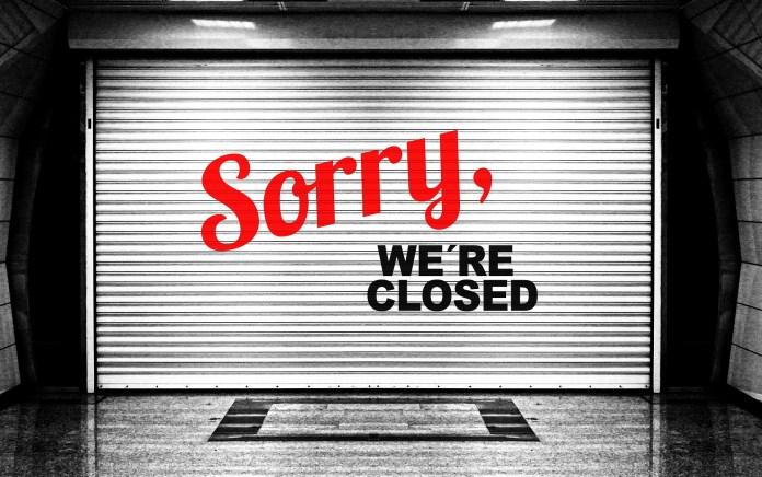 In week 50 zijn 41 bedrijven failliet verklaard