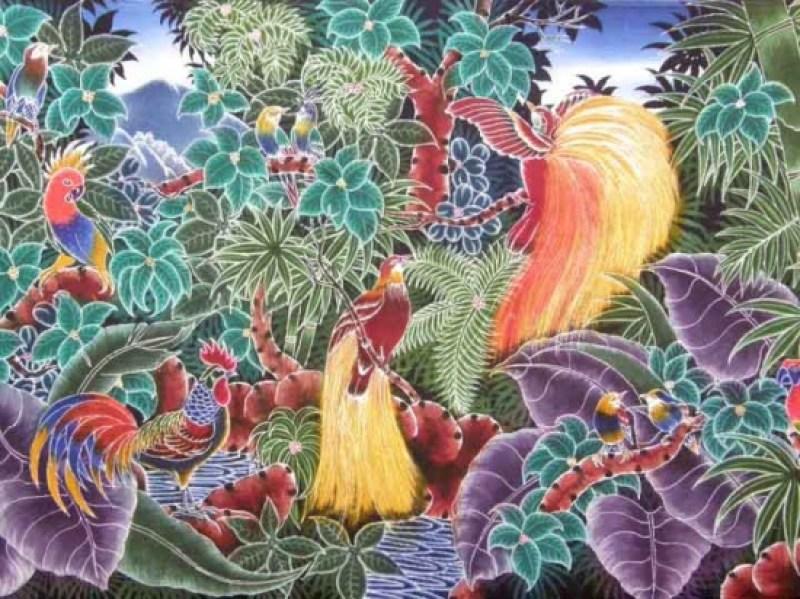 kain batik lukis indonesia