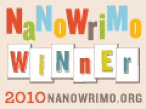 NaNoWriMo Winner 2010