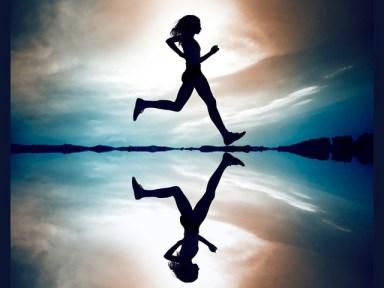 running-silhouette