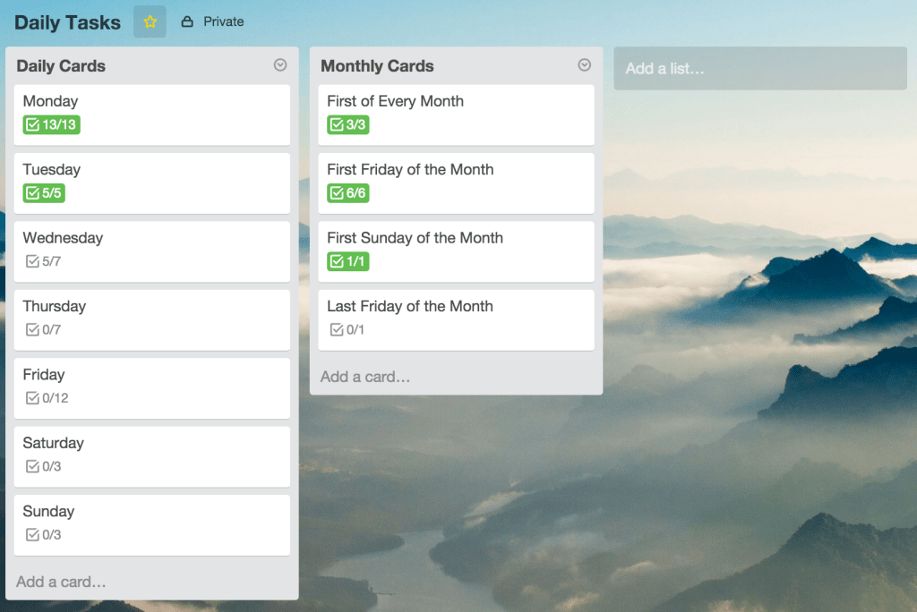 daily-tasks-trello