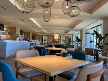 ANAインターコンチネンタル石垣リゾート 新館ベイウイングにある デリ&カフェ・工芸品ショップ・リゾートセンター「パレットテラスラウンジ」紹介 オプショナルツアーに申し込み・参加してみた【PALETTE Terrace Lounge】【ANA InterContinental Ishigaki Resort】