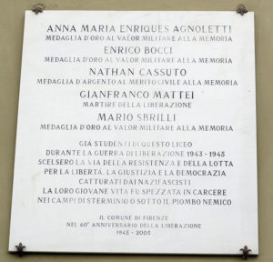 Via_della_colonna,_liceo_michelangelo_03_targa