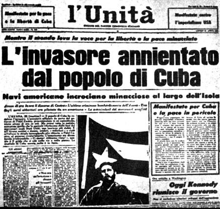 Baiai dei Porci: quando Kennedy non riuscì a abbattere Fidel