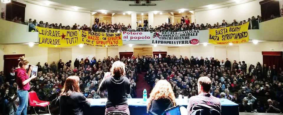 Potere al popolo: una sinistra radicale