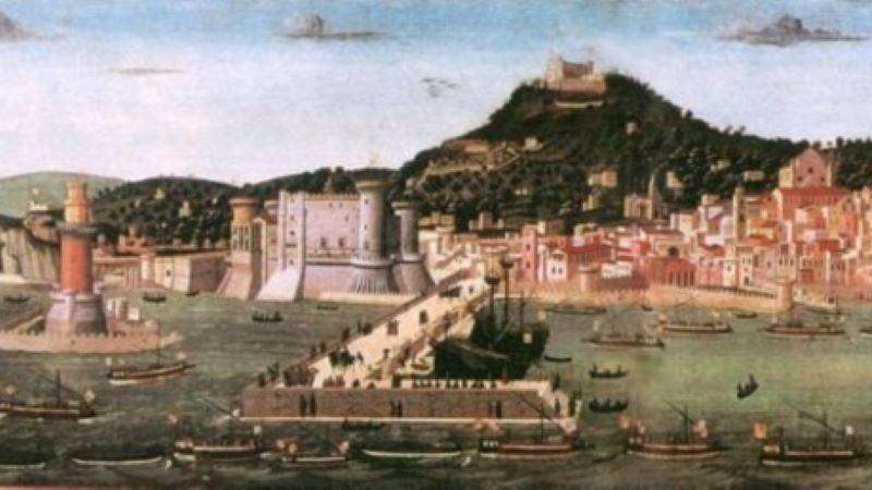 napoli aragonese XV secolo tavola strozzi